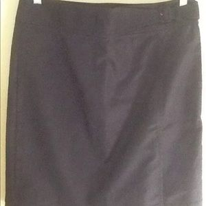 Ann Taylor black skirt.  Size 8.  New with tags.